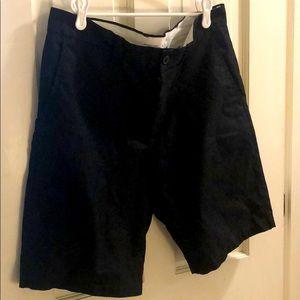 Old navy black ultimate slim flat front short